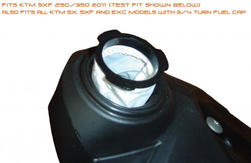 splitstream fuel filter honda crf, kawasaki kxf, ktm sxf efi !